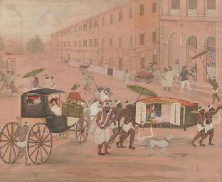 Calendar Shop In Kolkata A Company School Painting India Kolkata 19th Century
