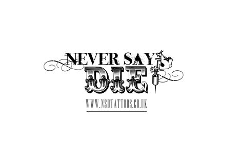 never say die tattoo never say die studio croydon