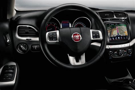 fiat freemont interior fiat freemont review and photos