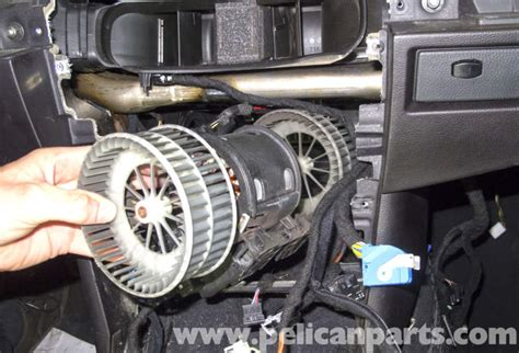 how to remove a blower motor resistor bmw e60 5 series blower motor blower motor resistor replacement pelican parts technical article