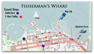 san francisco map pier 39 fisherman s wharf san francisco a local s review
