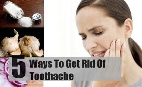 5 various effective ways about how to get rid of toothache