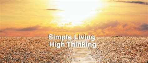 Simple High Thinking Essay by Simple Living High Thinking Radhanath Swami Devotional Mellows