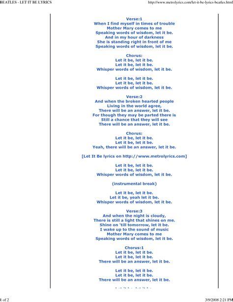 testo yesterday beatles let it be beatles let it be lyrics words