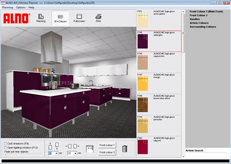 kitchen planner free alno ag kitchen planner softpedia