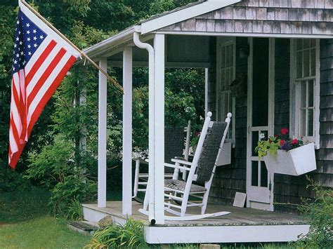Porch Flags american flag on the porch usa wallpaper