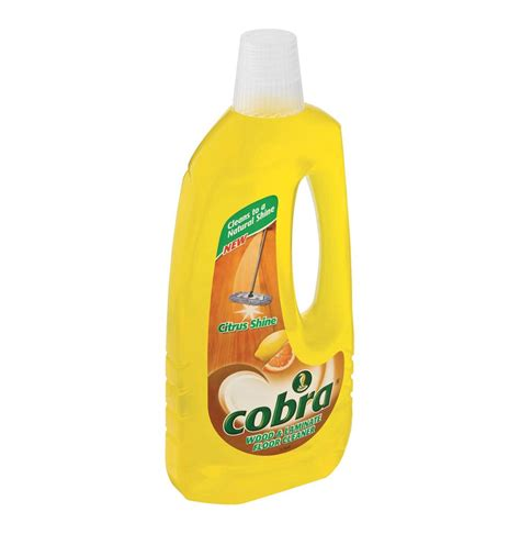 cobra 1 x 750ml laminate floor cleaner citrus lowest