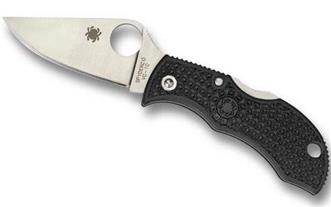 lightweight pocket knives spyderco mbkp manbug lightweight manbug knife spyderco