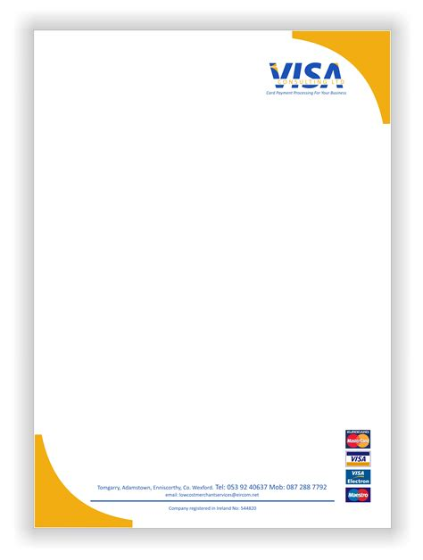 Business Letterhead Printing Services printing signage services in wexford kinsella sign and