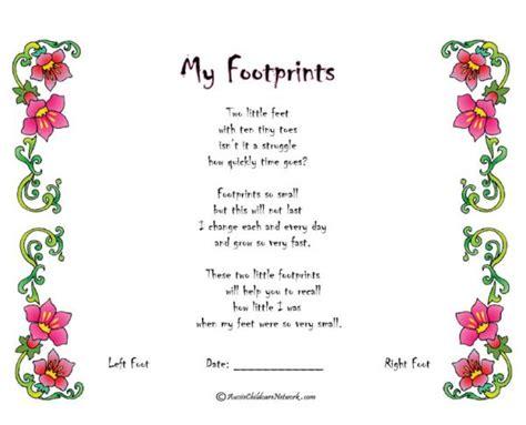 My Footprints Aussie Childcare Network Child Portfolio Templates