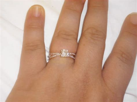 10 Signs Its A Bad Engagement Ring by Show Your Cushion Cut Engagement Rings Weddingbee