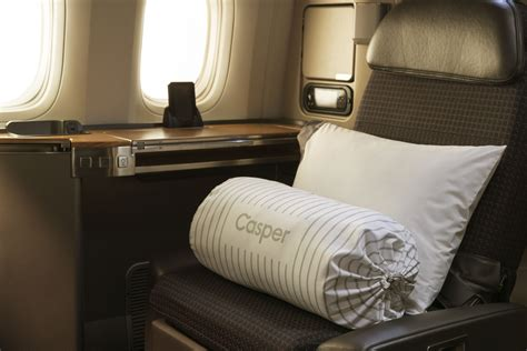 american airlines teams up with casper to offer new in flight sleep products techcrunch