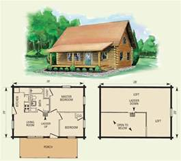 Log Home Floor Plans With Loft by Cumberland