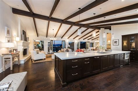 Home Theater Design In Houston mila kunis puts bachelorette pad in hollywood hills on the