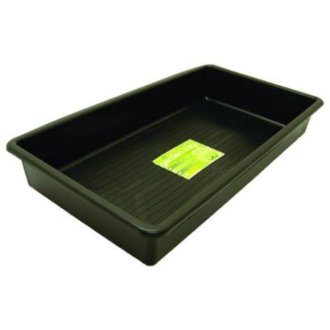 Planter Trays by Garland Titan Rectangle Plant Pot Tray 100cm X 55cm X 15cm