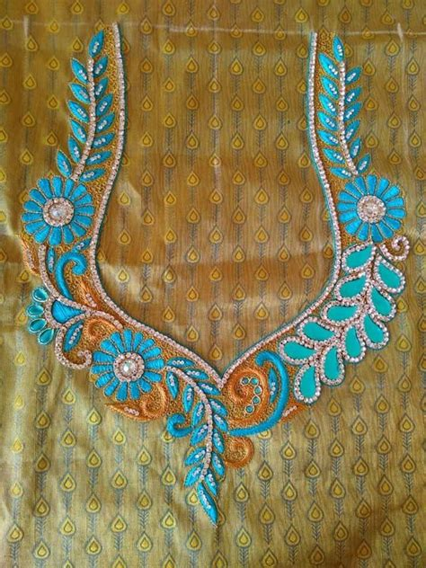 blouse pattern works 28 best mangam work saree blouse images on pinterest