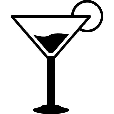martini glasses vector cocktail glass icons free