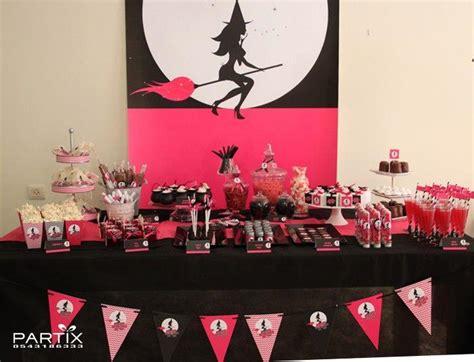 witch themed decorations tudo pra sua festa festa de anivers 225 tema dia das bruxas