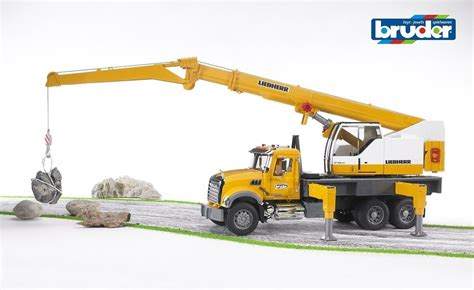 Crane 12 12 Big Sale Bundling B bruder mack granite liebherr crane truck the granville