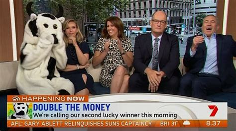 Sunrise Cash Giveaway - sunrise s dave kochie loses temper with viewer who confused today show competition