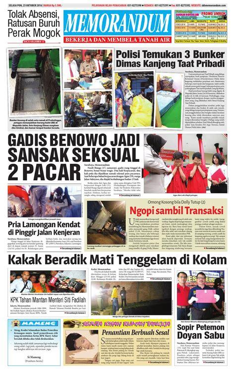 memorandum edisi 25 oktober 2016 by memorandum issuu