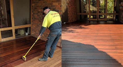 cleaning staining  timber deck  stain eaters
