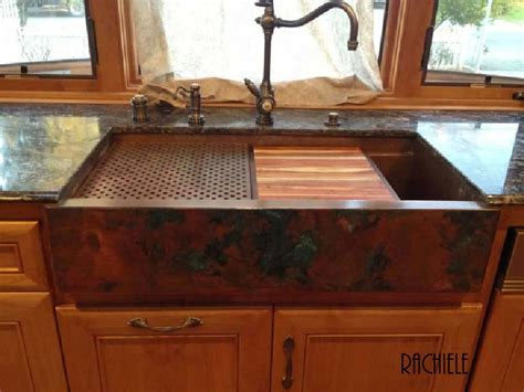 copper sink installation farmhouse sink installation in existing cabinet