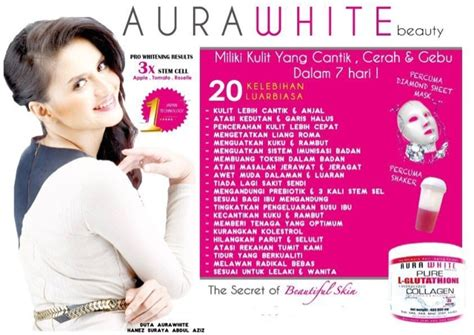 Aura White Collagen Indonesia produk timur tengah aurawhite collagen