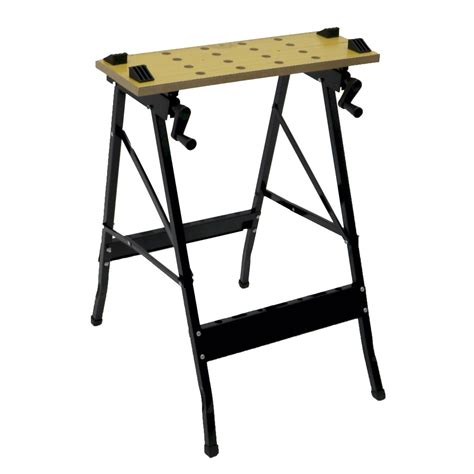 folding work bench folding foldable trestle work bench workbench portable