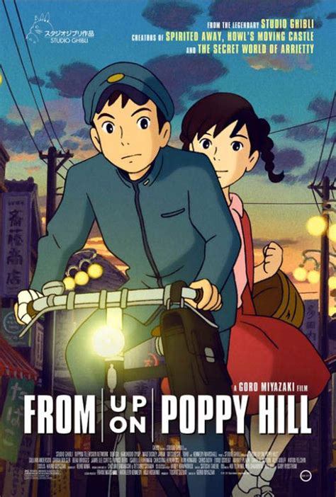 studio ghibli film online movie review from up on poppy hill projected realities
