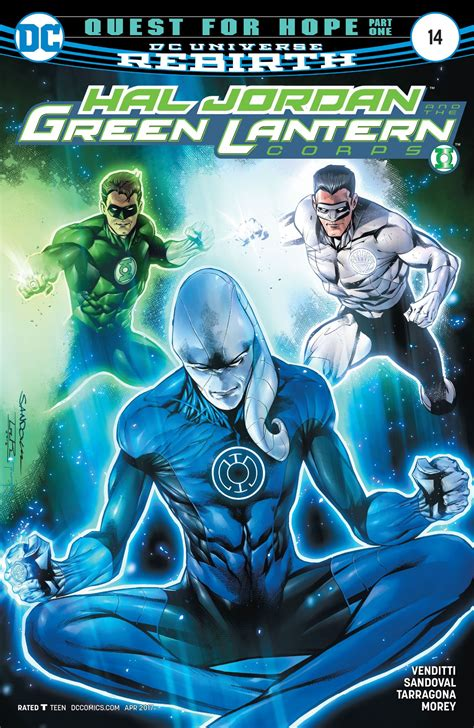 hal and the green lantern corps vol 4 fracture rebirth hal and the green lantern corps vol 1 14 dc