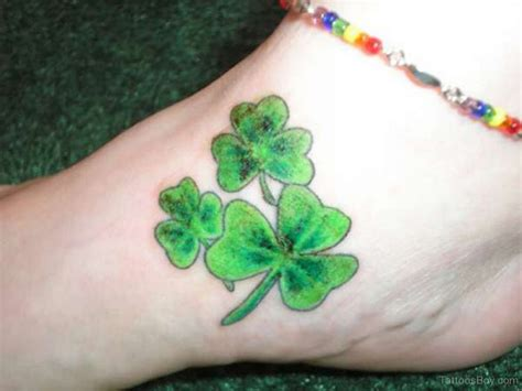shamrock tattoos shamrock tattoos designs pictures
