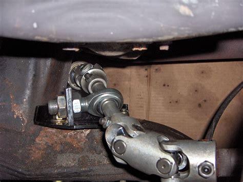 c3 corvette rack and pinion 79 c3 steering column help rack pinion conversion in