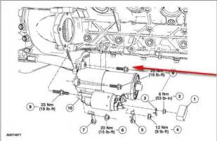 2004 Ford F150 Starter How Do You Remove Top Bolt On 2004 F150 5 4 Starter