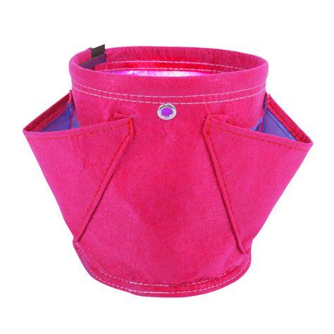 Plastic Planter Bags by Viagrow 10 Gal Plastic Grow Bag 25 Pack V724415 25