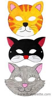 printable animal masks craft kids crafts firstpalette com
