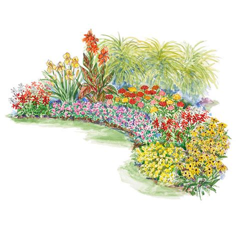 Flower Garden Plan Summer Garden Plan