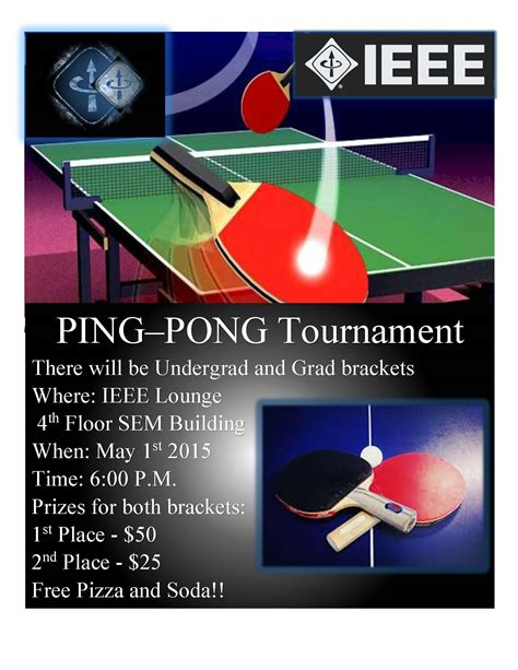 Enginews 187 Ieee Ping Pong Tournament Flyer Template