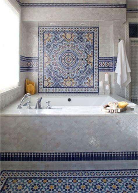 moroccan bathroom tile 30 moroccan inspired tiles looks for your interior digsdigs