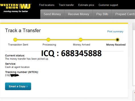 western union bank transfer western union bank paypal transfers by carder z33 atn