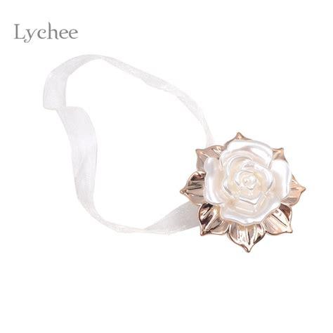 drapery magnets lychee gold leaf white ヾ ノ rose rose design ribbon