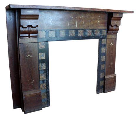 Ori Mantel wonderful antique aesthetic movement slate mantel with