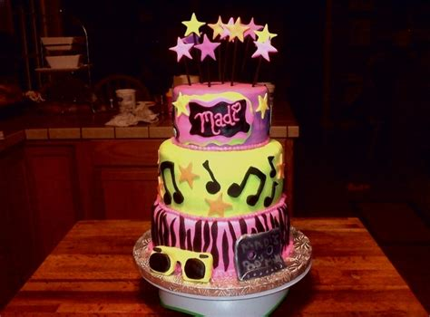 13 best images about 80s showcase decorations on pinterest 13th birthday cake 80 s theme cakecentral com