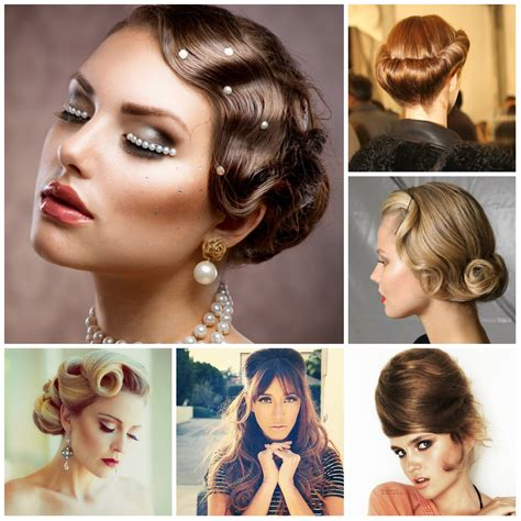 Simple Pin Up Hairstyle by Easy Retro Hairstyles For Hair Hairstyles