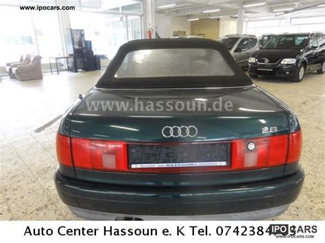 how it works cars 1995 audi cabriolet spare parts catalogs service manual 1995 audi cabriolet how to remove evaporator service manual 1995 audi
