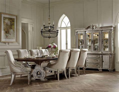 dallas designer furniture orleans formal dining room set  white wash