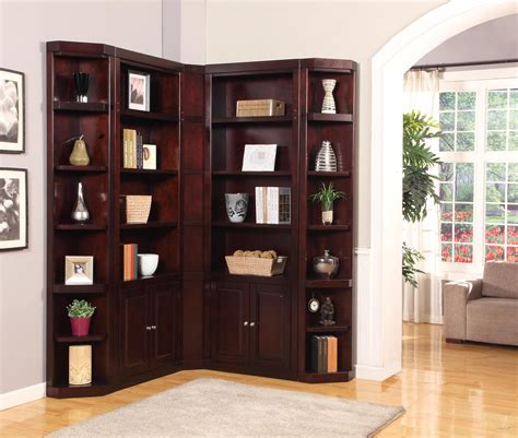 Corner Library Bookcase Bookcases Ideas Recomendation Corner Bookcase Furniture Corner Bookcases Corner Library