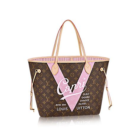 Paket Louis Vitton Lv Cervo louis vuitton cities limited edition v neverfull bags
