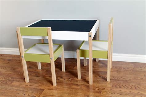 Diy Toddler Desk Diy Decor Ikea Quot Latt Quot Hack Going From Drab To Fab With Paint Diy Decor