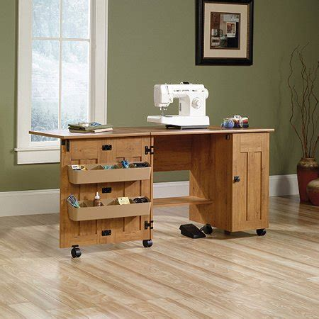 sewing and craft table sauder sewing and craft table finishes walmart com